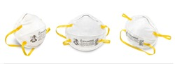 Mask N95 respirator is a respiratory protective device designed to achieve a very close facial fit and very efficient filtration of airborne particles - covid19 virus protection