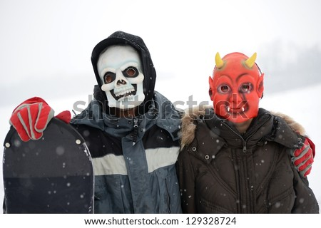 masquerade in wintertime