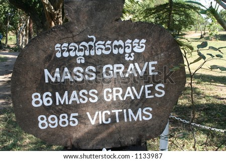 The Green Party's plan for the M25 Stock-photo-mass-grave-sign-at-the-killing-fields-in-cambodia-where-more-than-victims-including-women-1133987