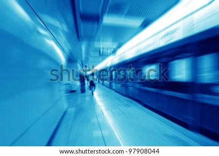Mass rapid transit in guangzhou of china