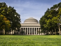 Massachusetts Institute of Technology Dome in Fall