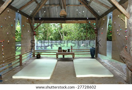Massage Pavilion Outdoor