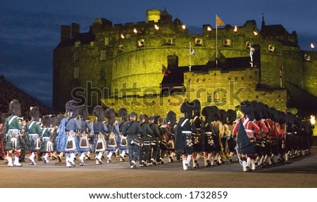 Massed Pipes and Drums at the 2006 Edinburgh Military tattoo