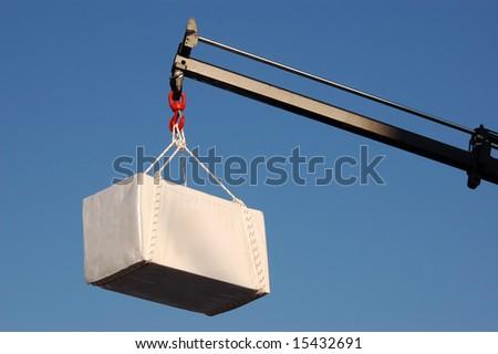 massive crane lift big burden #15432691