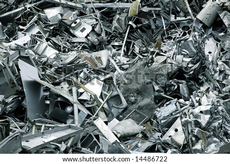 Massive pile of scrap metal - large XXL file