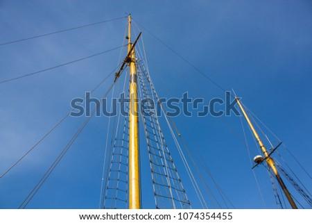 Mast of a ship