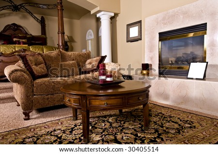 master bedroom sitting room with fireplace and over stuffed furniture bedroom sitting room furniture