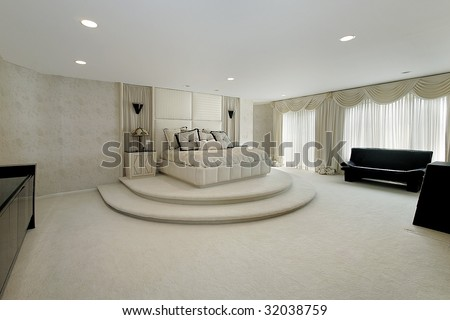 Master bedroom with step up area stock photo 32038759 shutterstock Step up master bedroom