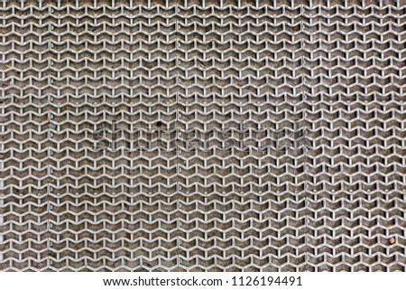 mat with a geometric pattern pattern texture background #1126194491