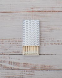 match book on wood surface