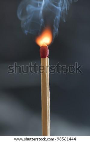 Match Igniting - stock photo