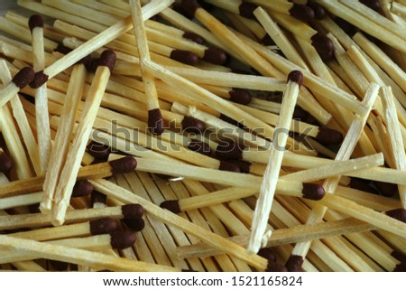 Matches, for backgrounds or textures. Matches. Some matches on white background.