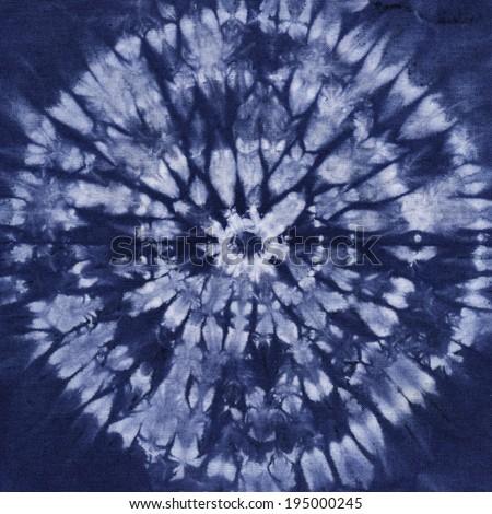 Material dyed batik Shibori