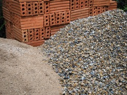 Material for construction.