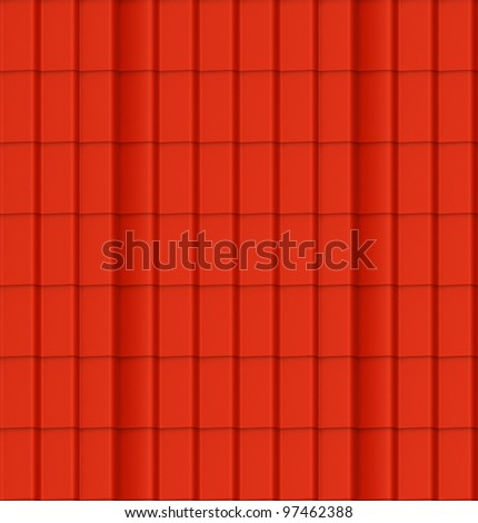 Material of a red tiling. A seamless pattern.