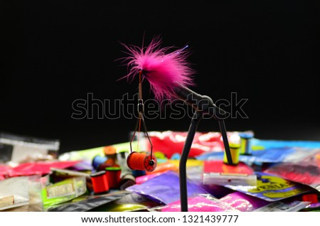 materials for knitting flies fly fishing