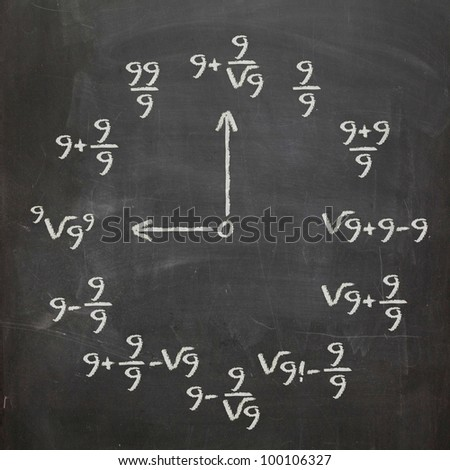 http://image.shutterstock.com/display_pic_with_logo/624799/100106327/stock-photo-math-clock-with-all-nines-on-chalkboard-100106327.jpg