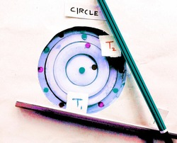 mathematics, circles, two tangents touches to a circle.