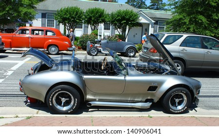 MATHEWS, VA- JUNE 01:A Ford Cobra in the Annual: Vintage TV\'s \