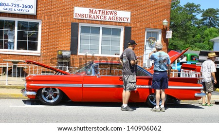MATHEWS, VA- JUNE 01:An old Impala in the Annual: Vintage TV\'s \