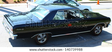 MATHEWS, VA- JUNE 01:An Old Malibu SS in the Annual: Vintage TV\'s \
