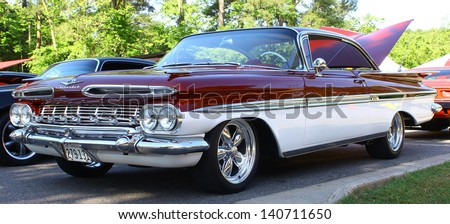 MATHEWS, VA- JUNE 01:59 Chevrolet left side in the Annual: Vintage TV\'s \