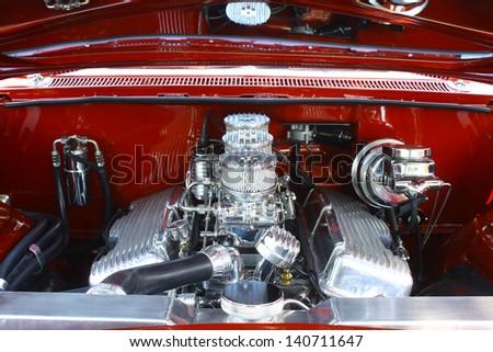 MATHEWS, VA- JUNE 01:59 Chevrolet motor in the Annual: Vintage TV\'s \