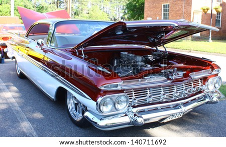 MATHEWS, VA- JUNE 01:59 Chevrolet right side in the Annual: Vintage TV\'s \