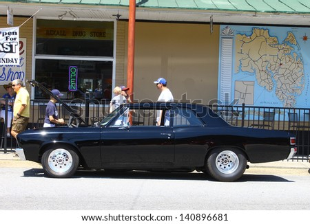 MATHEWS, VA- JUNE 01: Chevy Malibu in the Annual: Vintage TV\'s \