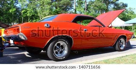 MATHEWS, VA- JUNE 01:Dodge Challenger in the Annual: Vintage TV\'s \