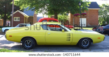 MATHEWS, VA- JUNE 01:Dodge Charger in the Annual: Vintage TV\'s \