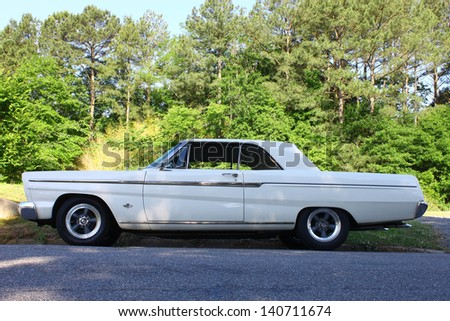 MATHEWS, VA- JUNE 01:Ford Comet in the Annual: Vintage TV\'s \