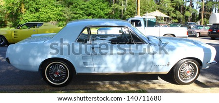 MATHEWS, VA- JUNE 01: Ford Mustang in the Annual: Vintage TV\'s \