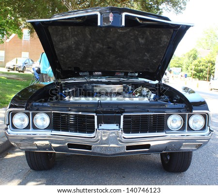 MATHEWS, VA- JUNE 01:Olds Cutlass front in the Annual: Vintage TV\'s \