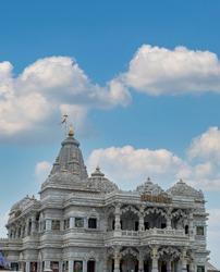 mathura vrindavan temple, prem mandir beautiful architecture.