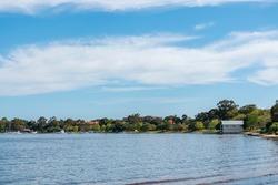 Matilda Bay and the Swan River at Crawley, Perth, Western Australia, Australia