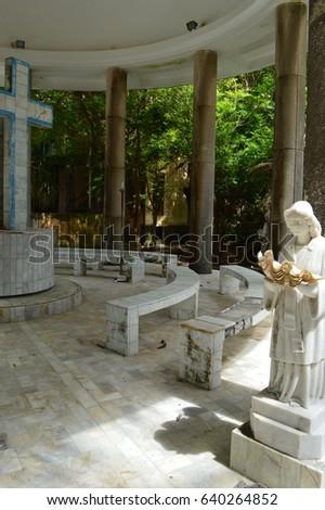Matinloc shrine in El Nido, the Philippines #640264852
