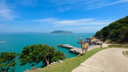 Matsu is a small island in Taiwan, adjacent to China. And there are a lot of deer.