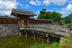 Matsushiro Castle, the ruins of a Japanese castle