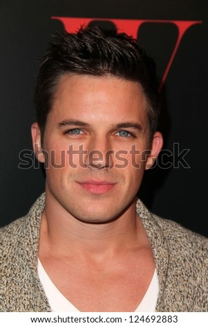 Matt Lanter at 30 Years Of Fashion And Film and the Next Generation of Style Icons presented by W and Guess, Laurel Hardware, West Hollywood, CA 01-08-13