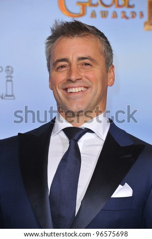 Matt Le Blanc at the 69th Golden Globe Awards at the Beverly Hilton Hotel. January 15, 2012  Beverly Hills, CA Picture: Paul Smith / Featureflash