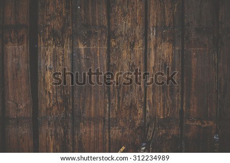 Matte hipster wood wall background texture  #312234989