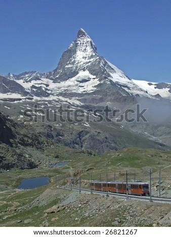 Matterhorn from Gornergrat (Swiss alps)