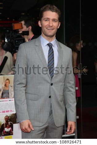 Matthew Morrison arriving for the UK Premiere of 'What To Expect When You're Expecting' at the Imax Cinema, London. 22/05/2012 Picture by: Alexandra Glen / Featureflash