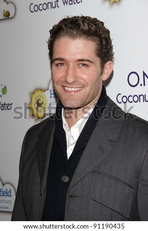 Matthew Morrison at An Evening With Leona Lewis And Friends Benefiting Hopefield Animal Sanctuary, Private Location, Beverly Hills, CA 11-19-11