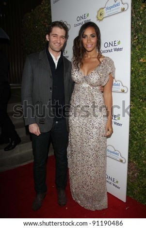 Matthew Morrison, Leona Lewis at An Evening With Leona Lewis And Friends Benefiting Hopefield Animal Sanctuary, Private Location, Beverly Hills, CA 11-19-11