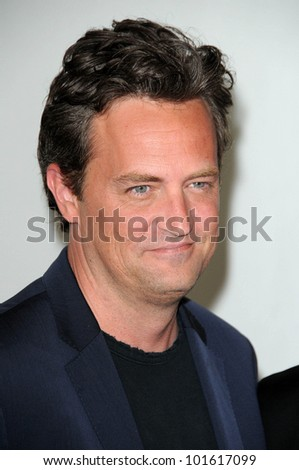 Matthew Perry at the Disney ABC Television Group Summer 2010 Press Tour - Evening, Beverly Hilton Hotel, Beverly Hills, CA. 08-01-10