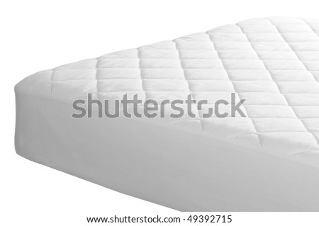 Mattress cover. Isolated
