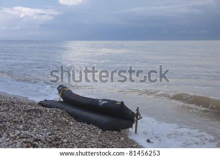 Mattress on Beach - Olympos, Turkish Riviera, Turkey, Asia #81456253