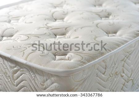 mattress texture tissue jacquard on a white background
